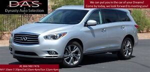2013 Infiniti JX35 PREMIUM PKG NAVIGATION/LEATHER/SUNROOF/7 PASS
