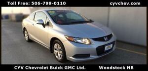 2012 Honda Civic LX Coupe Automatic $46/Week