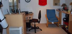 Converted outbuilding available to hire as workspace / office short term
