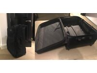 Suitcases: Samsonite and Eminent Lot of 2 Large Travel Bags Luggage Ganatka
