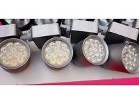 RETAIL / SHOP / EXHIBITION TRACK LIGHTING - LOT of 8 X PROLIGHT DESIGN TONE LED
