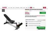 Commercial Weight Bench (was £220 new)