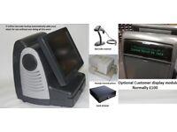 Complete epos till system with drawer Scanner printer software 5 million barcode database