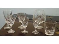 Stuart Crystal Glengarry glass collection
