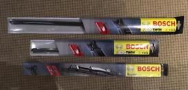 3 Bosch wiper blades: AR26U - AR16U - SuperPlus 20 - £5 each