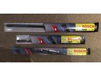 3 Bosch wiper blades: AR26U - AR16U - SuperPlus 20 - £5 each