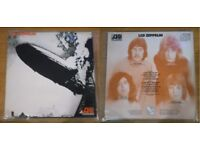 VERY RARE VINYL RECORD - LED ZEPPELIN - ORANGE A/1 - B/1 - 1969 ATLANTIC