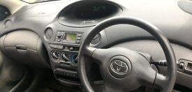 Toyota Yaris Black 1.0L 3 doors Only 87.Miles £650