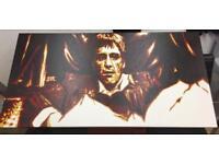 Canvas painting Al Pacino
