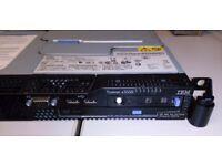 IBM x3550 1U, Xeon 2.66Ghz, 16Gb RAM, 250Gb SATA