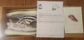 Adidas Yeezy Boost 350 V2 - Zebra White - UK 11/US 11.5 - Brand New with Receipt