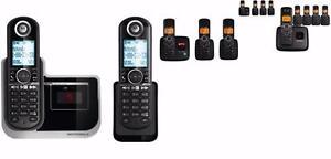 Téléphone Sans-Fil Maison Résidentiels Avec Répondeur Motorola L802-L703-L704-L705 - TOUT LES MODÈLES SUR BESTCOST.CA