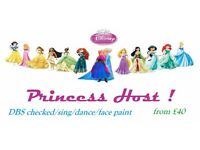 Princess Party Host