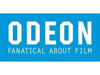 4 x Odeon Cinema Adult Ticket Code