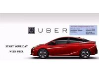 PCO Car Hire / Rent / Uber / Toyota / Prius/ Hybrid - From £120 **1st Week Rent Free**