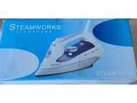 Steamworks Signature Steam Iron - hardly used