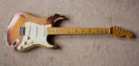 Stratocaster / Custom Built / Road Worn / Relic