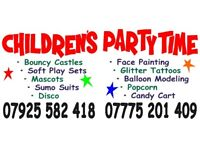 Childrens partytime