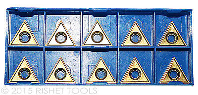 RISHET TOOLS TT 322 C5 Multi Layer TiN Coated Carbide Inserts (10 PCS)