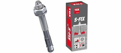 50 stk M8x75 TOX S-Fix Pro1 Bolzenanker Schwerlastdübel Fixanker Ankerbolzen