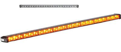 Federal Signal Latitude Sl8f-a Led Light Bar Stick Amber Clear Lens 8 Head New