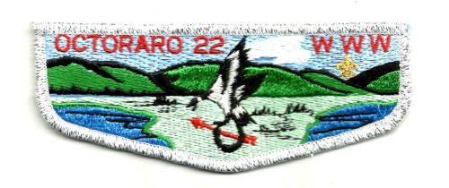 OCTORARO Lodge 22-S OA Flap MINT Chester Cty. Boy Scout flap, PA 1980