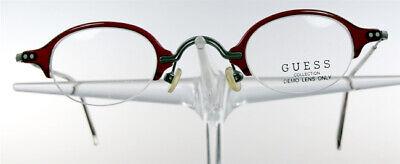 GUESS 4071 Brille Brillengestell Braun Grau Halbrand Damen Herren Eyeglasses NEU (Herren Guess Brillengestelle)