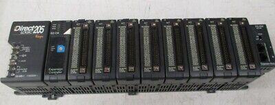 Direct Logic D2-32nd3 205 9 Slot Rack