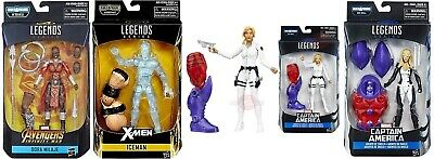 Marvel Legends. Sharon Carter, Mockingbird, X-Men Iceman, Dora Milaje