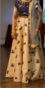 Bridal/Sangeet Designer Lehenga :Worn Once, Excellent Condition!