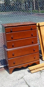 Dresser with Dovetailed drawers