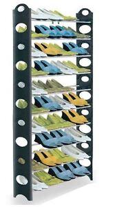 very tall shoe rack