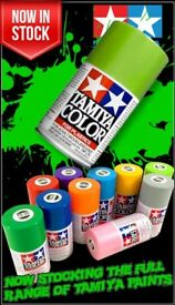 Tamiya 100ml Acrylic & Polycarbonate Spray Paint * Many Colours Available *