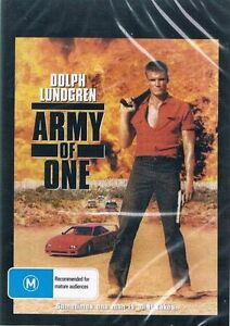 ARMY OF ONE DVD 1993 (AKA Joshua Tree) New & Sealed ALL Region Dolph Lundgren