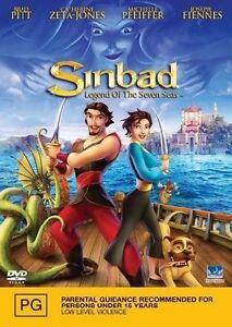 BRAND NEW SEALED Sinbad : Legend Of The Seven Seas (DVD, 2003)