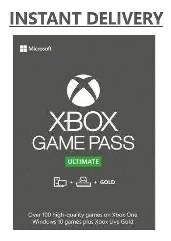 XBOX LIVE GOLD + Game Pass Ultimate Code (14 Days, 1 Month, 3, 6 and 12 months)