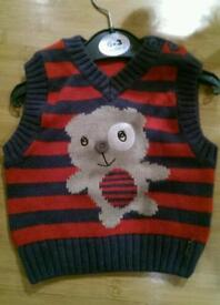Boy's Knitted Tank Top