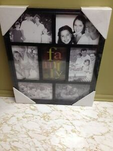FAMILY PICTURE FRAME....NEW