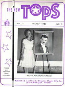 TOPS Magic Magazines