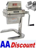 Hand Crank Meat Tenderizer http://www.ebay.com/itm/NEW-MEAT-TENDERIZER-FOR-12-HOBART-MIXER-HUB-OR-HAND-CRANK-UNIWORLD-MTA74-/150912535395
