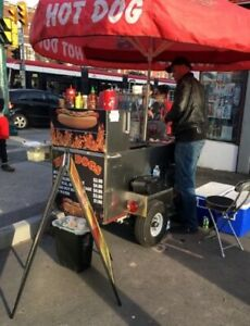 Quality hot dog cart for sale