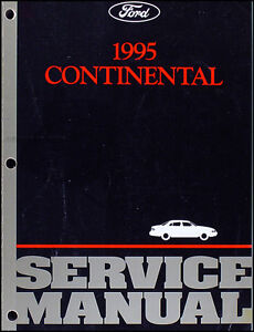 1995-Lincoln-Continental-Shop-Manual-95-Original-Repair-Service-Book-OEM