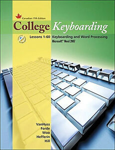 COLLEGE KEYBOARDING: Lessons 1-60 & Lessons 1-25 Books