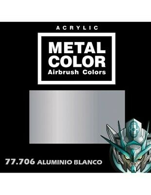 77706 Vallejo Metal Color - Aluminio Blanco