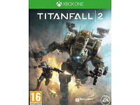 xbox one games; TITANFALL 2/AGENTS OF MAYHEM etc (new)
