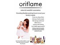 Consultant with Oriflame.