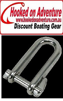 Stainless Steel Halyard Shackles - 316 Grade 6.0mm