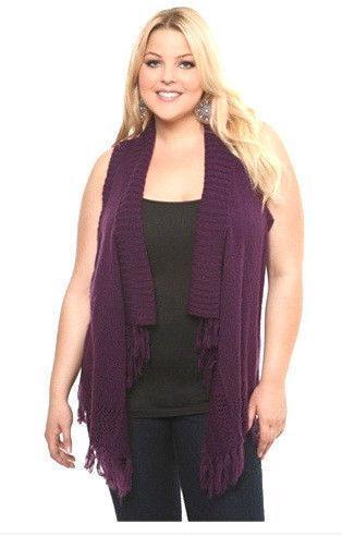 Plus Size Fringe Vest Ebay