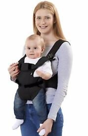 Mothercare Three Position Baby Carrier - Black.