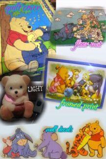 Pooh bear bedroom bundle Munno Para West Playford Area Preview